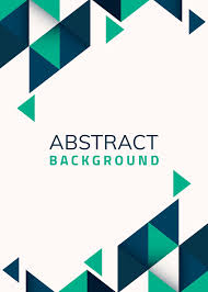 Free Background Design Vector Abstract Blue And Green Geometric Background Vector Free