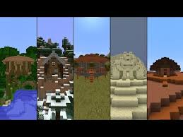 5 starter houses in minecraft play