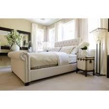 upholstered sleigh beds. Trina Upholstered Sleigh Bed Beds