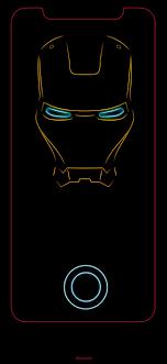 Iron man iPhone X wallpaper