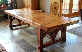 distressed wood dining table distressed round