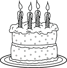 Coloring Pages Candle Coloring Page Pages Birthday Holder Pa