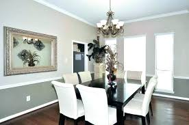dining room chair rail paint ideas gray colors interesting molding