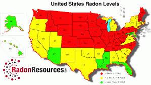 Radon Level Chart Radon Levels Radonresources Com
