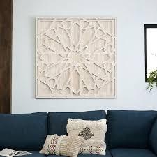 west elm wall art textile wall art graphic wood whitewashed square west elm west elm capiz