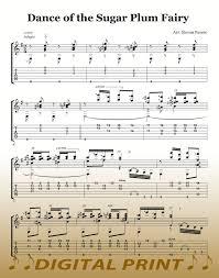 dance of the sugar plum fairy sheet music dance of the sugar plum fairy nutcracker suite guitar sheet music