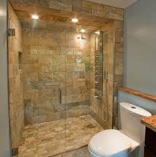 natural stone tile shower floor