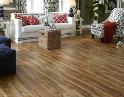 tranquility 5mm rustic acacia resilient vinyl flooring contemporary living room