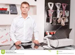 young male s assistant at work stock photo image  young male s assistant at work