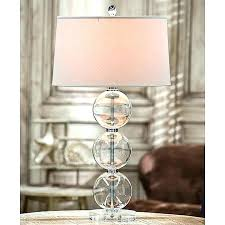stacked ball floor lamp mercury glass oil shade clear table lighting ltd better homes and gardens