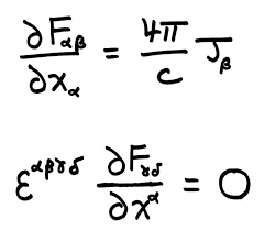 contained in these lines are equations that explain how radio waves microwaves and x rays behave technologies such as microwave ovens