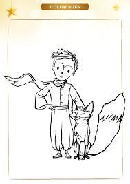 Coloriage Le Petit Prince Et Le Renard Planner Diy Sarah Kay And