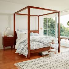 Fantastic Wooden Canopy Bed Frame with Victorian Canopy Bed Wayfair ...