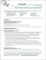 Free Medical Assistant Resume Templates Best of Medical Resumes Templates Free Medical Resume Templates Medical