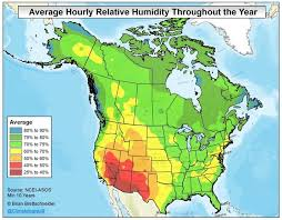 Oh The Humidity Which State Is The Most Humid