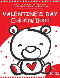 Halloween coloring book for kids! Valentine S Day Coloring Book For Kids A Fun And Easy Happy Valentines Day Coloring Pages With Flowers Sweets Cherubs Cute Animals And More For Kids Toddlers And Preschool Books Ernest Creative Holidays