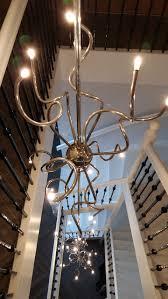 Videlamp 34 Lichts Over 3 Etages Vide Lampen Op Maat Gemaakt Voor