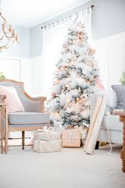 christmas trees decorated pink. Modren Trees Winter White Christmas Tree Inspirations 03 With Trees Decorated Pink O
