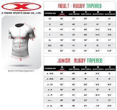 Hockey Jersey Size Conversion Chart Sizing