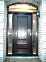 entry door with single sidelight front doors glass surprising fiberglass front entry doors with glass fiberglass