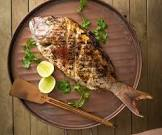 barbecued fish