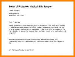 medical letter template letter of protection medical bills sample 304 0