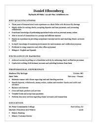 Resume Examples For Cashier Bank Teller Resume Sample Resume Profile
