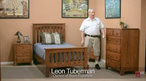 Shaker Bedroom Furniture Sets Barn Furniture Amish Shaker Bedroom Set Youtube