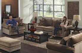 Oversized Chairs Living Room Furniture Oversized Rolled Arm Chair By Jackson Furniture Wolf And