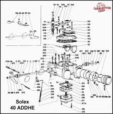 Click here for an exploded view drawing of the solex
