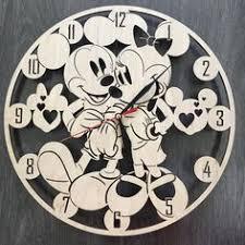 Mickey & Minnie Mouse <b>Retro Wood Wall Clock</b> #zulilyfinds