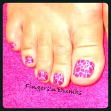 Minx Toes Designs Minx Pink Cheetah Toes Nails Minx Toes Nails Cheetah