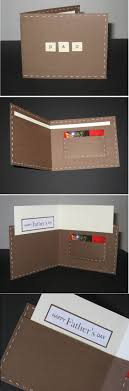 father s day wallet card father s day cards 21 diy ideas and designs