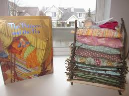 princess and the pea bed. Wonderful Princess I Made The Base Of Bed From Popsicle Sticks And Lots Hot Glue And  Then Rest Was Sticks Inside Princess And The Pea Bed