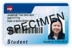 College Card East Concession Student Ite
