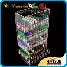 E Liquid Display Stand Acrylic LED Display Stand LED E Liquid Display Stand E Liquid 94