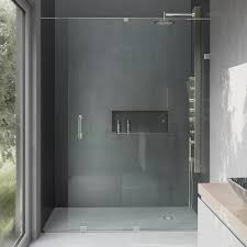 framed sliding shower doors. Semi-Framed Sliding Shower Door With Hardware In Chrome 3/8 In. Clear Glass Framed Doors
