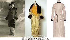 1910 winter coat fashions