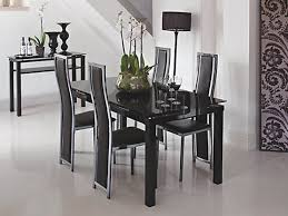 sleek black and glass dining table and chairs harveys furniture blog how do i prevent glass scratches