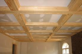 Indented Ceiling Lights The Coffered Ceiling In Architecture And Your Home