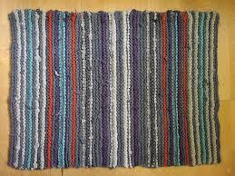 rectangular t shirt rug