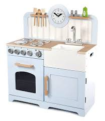 best play kitchens for toddlers pale blue country play toy kitchen by little wooden kitchen play