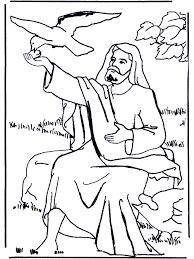 Elia En De Raaf Bijbel Kleurplaten Oude Testament