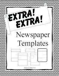 Newspaper Template App Fake Newspaper Template Simplyknox Co