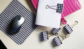 diy office supplies. coordinating office supplies \u2013 cool clips diy diy