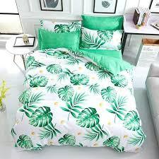 tropical leaf bedding leaf tropical leaf bedspread