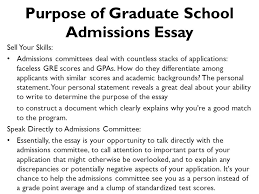 graduate school bound program ppt purpose of graduate school admissions essay