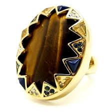 House Of Harlow 1960 Tigers Eye Ring House Of Harlow 1960 Tigers Eye Ring Nicole Richie Design Produce