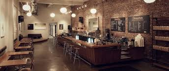 Stumptown is owned by peet's coffee, which in turn is owned by jab holding. Downtown Stumptown Coffee Roasters 店舗デザイン カフェ インテリア