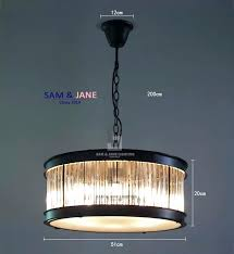 amazing crystal rod chandelier or art crystal rod chandelier black iron chain led light fixture vintage